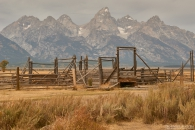 Grand Teton da Mormon Row